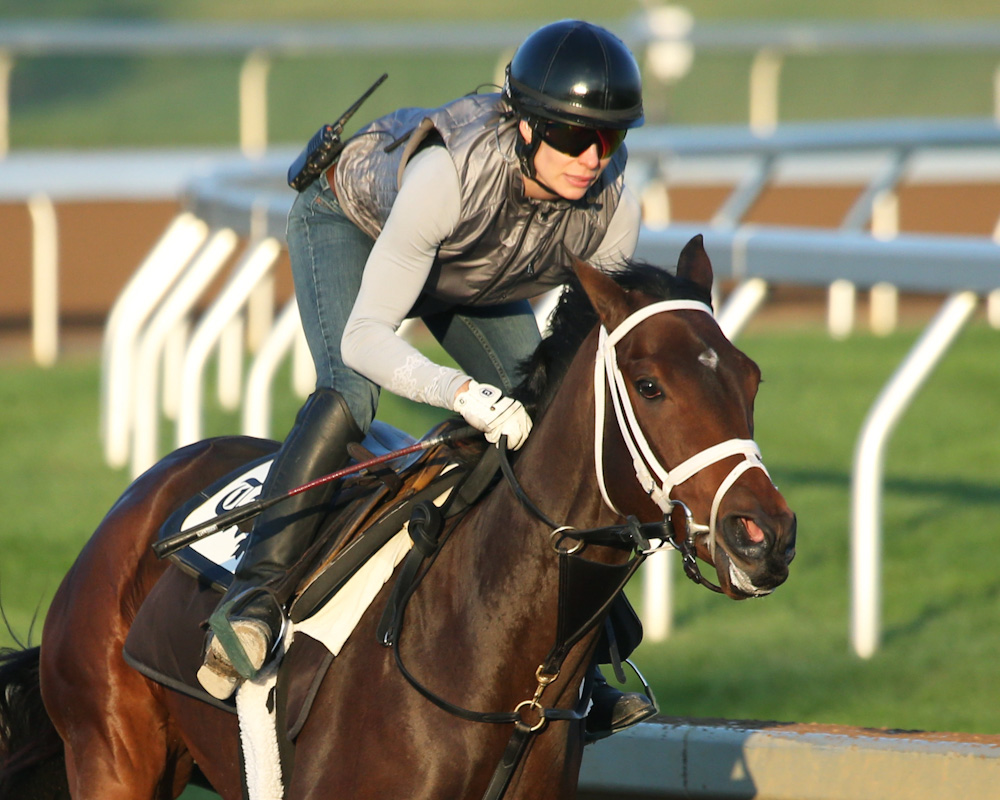 Rachel S Valentina Morning Workout Keeneland Race Course 1 The Turf Board