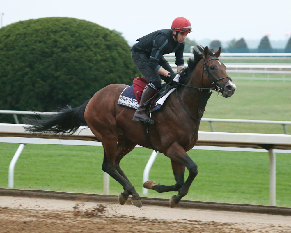 War Envoy Pre Entered In Breeders Cup Mile And Dirt Mile