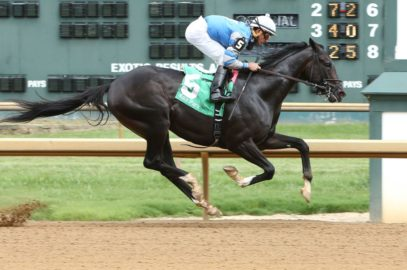 Not This Time Steps Up in Iroquois Stakes