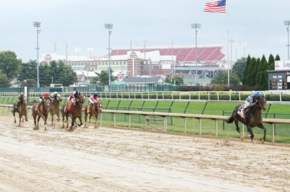 Not This Time Likely to Train Up to Breeders' Cup Juvenile